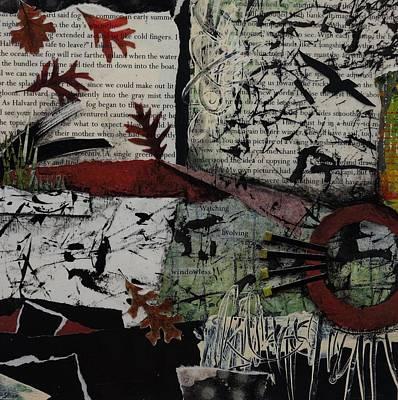 Fallen Oak Print by Laura Lein-Svencner