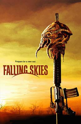 Falling Skies Original by Don Kuing