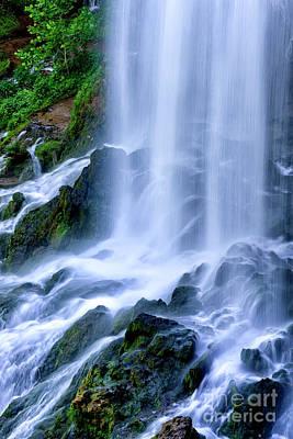 Wayside Photograph - Falling Spring Falls by Thomas R Fletcher