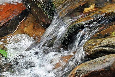 Photograph - Falling Water by Kay Lovingood