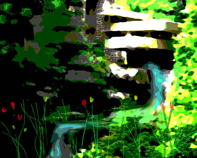 Modernism Mixed Media - Fallingwaters  by Paul Sutcliffe