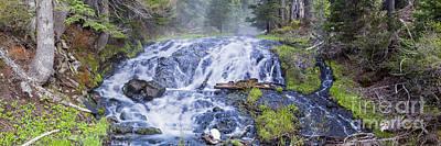 Sunriver Photograph - Falls At Todd Lake by Twenty Two North Photography