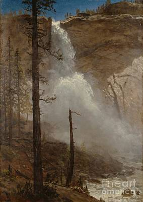 1880s Painting - Falls_of_yosemite by Celestial Images