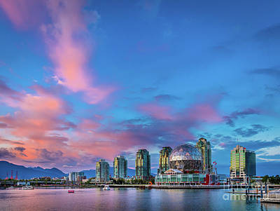 Vancouver Photograph - False Creek by Inge Johnsson