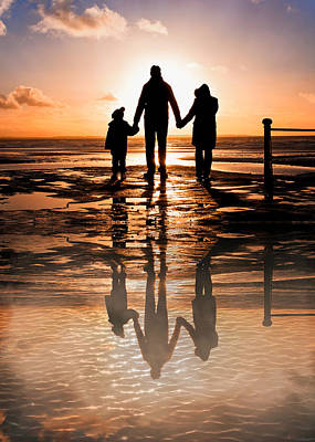 Weekend Photograph - Family Reflections by Tom Gowanlock