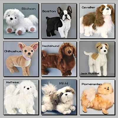 Dachshund Art Digital Art - Famous Dogs by David and Lynn Keller