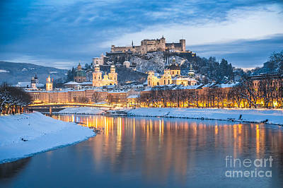 Europe Photograph - Famous Lights At Christmas Nights by JR Photography