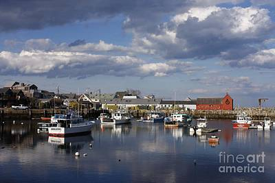 Famous Rockport, Ma Print by Marcia Lee Jones