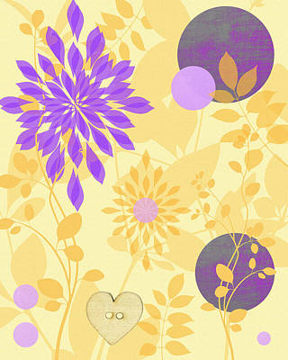 Fanciful Print by Lisa S Baker