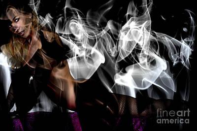 Fantasies In Smoke I Original by Clayton Bruster