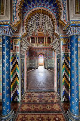 Fantasy Fairytale Palace - Deserted Building Print by Dirk Ercken