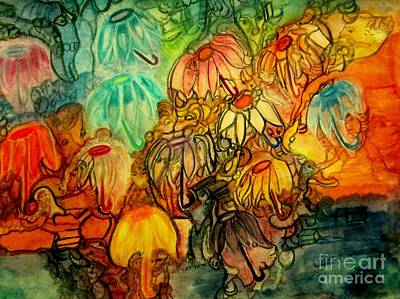 Landscape Painting - Fantasy by Stephanie Zelaya