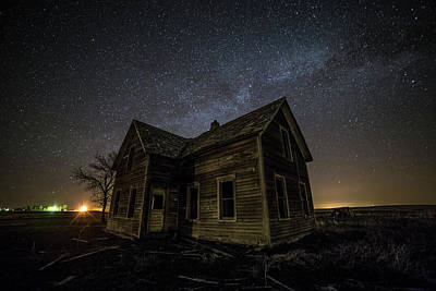 Far Away Print by Aaron J Groen