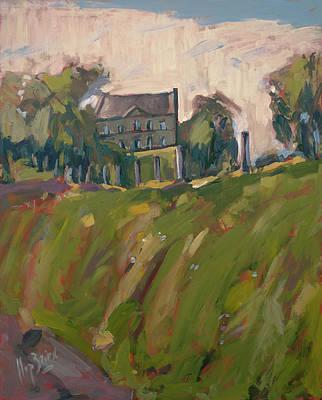 Farm Estate Zonneberg Print by Nop Briex