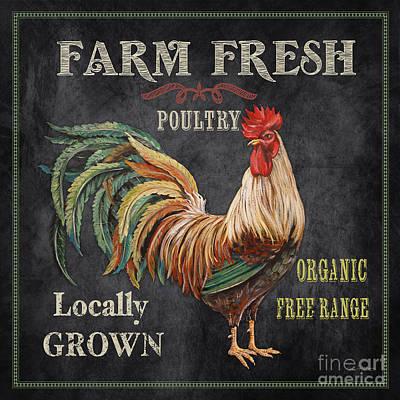 Farm Fresh-jp2634 Print by Jean Plout
