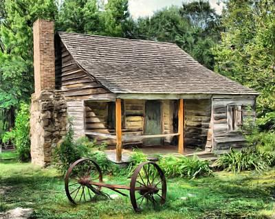 Farm House Print by Steven Richardson
