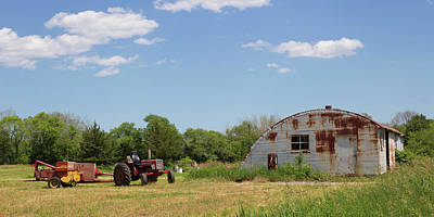 New England Photograph - Farm In North Stonington Ct by Kirkodd Photography Of New England