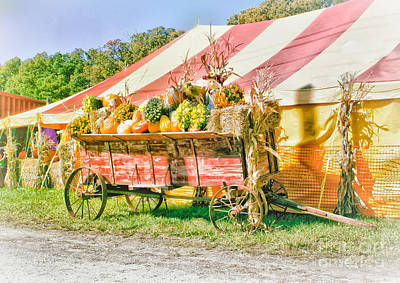 Farm Stand Photograph - Farm To Market by Robert Frederick