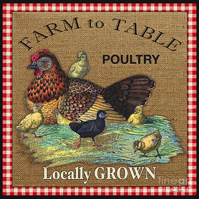 Farm To Table-jp2388 Original by Jean Plout