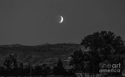 Luna Photograph - Farmer View Of Supermoon Eclipse by Robert Bales