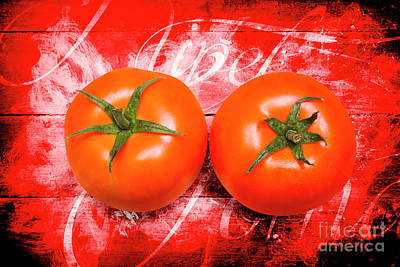 Stall Photograph - Farmers Market Tomatoes by Jorgo Photography - Wall Art Gallery