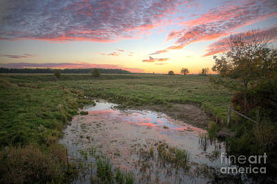Landscape Photograph - Farmland_sunset by James Cassidy