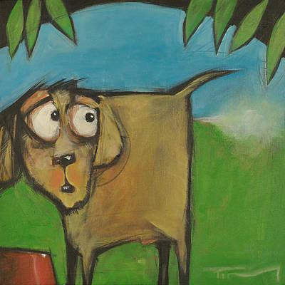 Farting Dog Original by Tim Nyberg