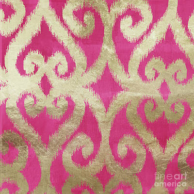 Rose Gold Painting - Fashion Boho by Mindy Sommers