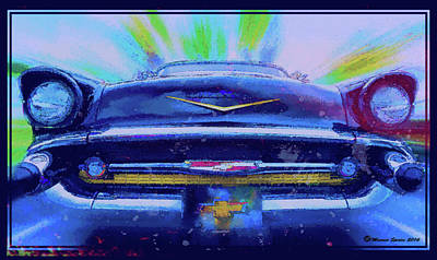 Fast Lane Print by Marvin Spates