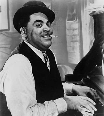 Jazz Musician Photograph - Fats Waller, Real Name Thomas, 1930s by Everett