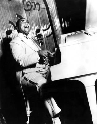 Jazz Musician Photograph - Fats Waller, Real Name Thomas, Photo by Everett