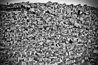 Favela Village In El Alto, La Paz, Bolivia Print by Joel Alvarez