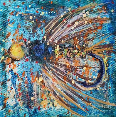 Favorite Flies 1 Print by Jodi Monahan