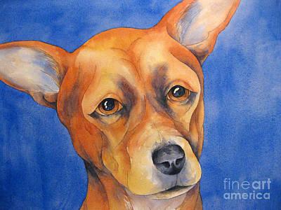 Fawn Chihuahua Original by Cherilynn Wood