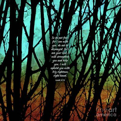 Fear Not Print by Shevon Johnson