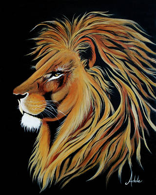 Pride Painting - Fearless by Adele Moscaritolo