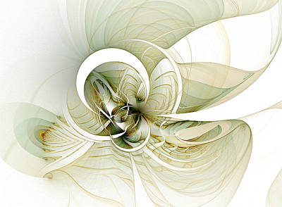 Framed Art Digital Art - Feather Your Nest by Amanda Moore