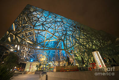 Fed Square Blues Print by Ray Warren