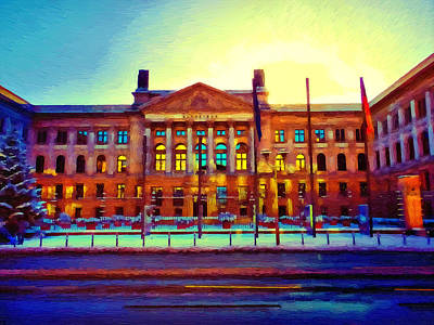 Federal Government Painting - Federal Council Of Germany by Ralph van Och