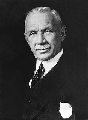 Director Photograph - Federal Reserve Banker by Underwood Archives