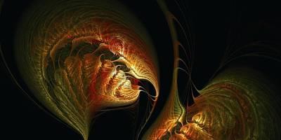 Solar Eclipse Digital Art - Feed Me Seymour Feed Me by Doug Morgan