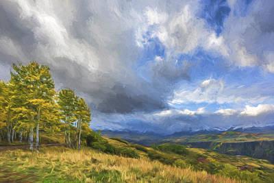Fine Art Digital Art - Feel The Clouds II by Jon Glaser