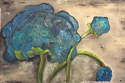 Feeling Blue Original by Cynthia Dodge