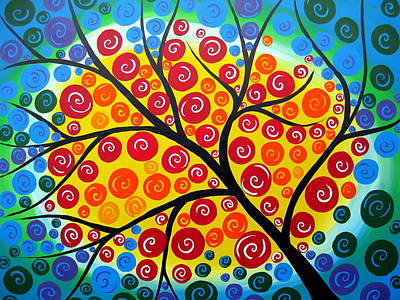 Wall Hanging Drawing - Feeling Centred by Cathy Jacobs