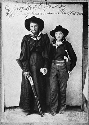 Female Outlaws Print by Granger