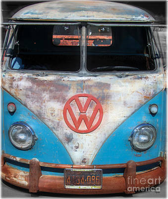 Volkswagen Photograph - Females Wanted by Steven  Digman