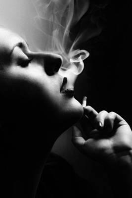 Noir Photograph - Femme Fatale by Cambion Art