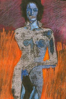 Femme Fatalle 1 Original by Michal Rezanka