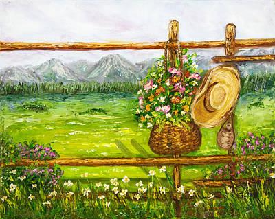 Fence Print by Boyan Dimitrov