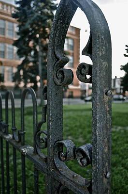 Fence Print by Brynn Ditsche